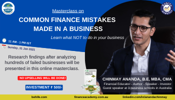 Common Finance Mistakes made in a Business