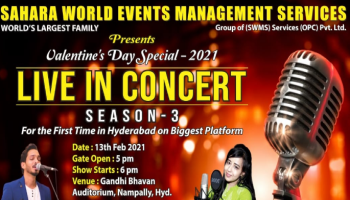 LIVE IN CONCERT- SEASON 3 (valentines day special event)