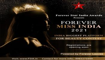 Miss India 2021 Beauty Pageant