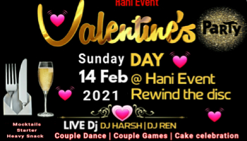 Biggest valentine day party