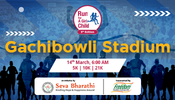 Run for a Girl Child - Gachibowli