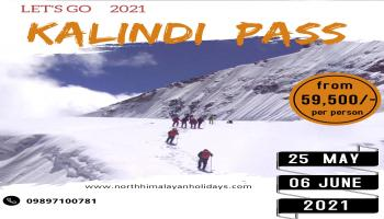 Kalindi Khal Pass Trek 2021