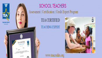 School Teaching Professionals - Teaching Expert Credit Assessment | Certification Program | 90 Offer