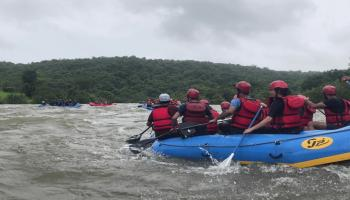 White-water Rafting in Kolad
