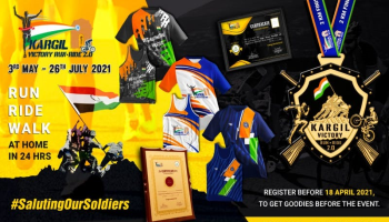 Kargil Victory Run - Ride 2.0