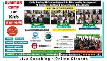 Best Kids Summer Camp 2021 Online - Hyderabad, Visakhapatnam, Vizag, India, Worldwide