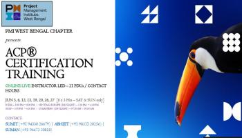 ACP CERTIFICATION TRAINING - PMI WEST BENGAL CHAPTER