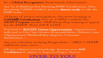 CAPM CERTIFICATION TRAINING - PMI WEST BENGAL CHAPTER  copy