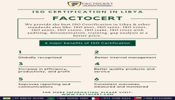 ISO Certification Process in Libya