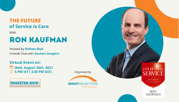 The Future of Service is Care -with Ron Kaufman