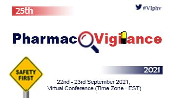 25th Pharmacovigilance 2021 (Virtual Conference)