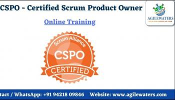 CSPO- Certified Scrum Product Owner Online Training  copy