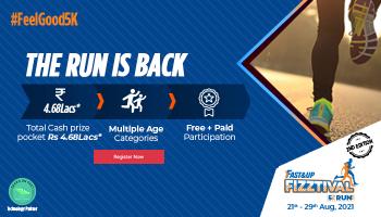 FastAndUp Fizztival Run 2nd Edition