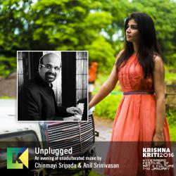 Unplugged Chinmayi Sripada with Anil Srinivasan on Piano