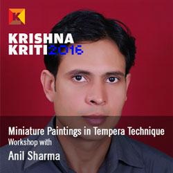 Miniature  Realistic Paintings in Tempera Technique- Anil Sharma