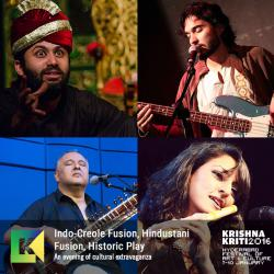 Indo-Creole Musical Concert/ Eight Kings - a play by Vikramjeet Sinha / Confluence - Fusion performance by Ustad Shujaat Khan and Rasika Chandrashekar