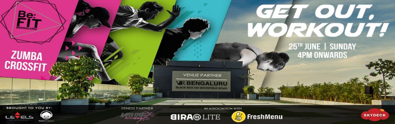 Be Fit Bengaluru with Bira Yoga, Zumba and Crossfi