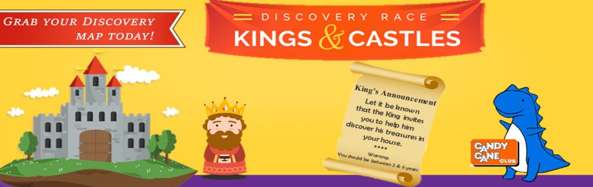 Discovery Race Kngs and Castles