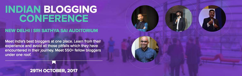 Indian Blogging Conference 2017