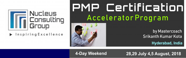 PMP Certification Accelerator Program in Hyderabad
