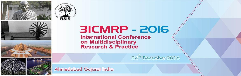 3rd International Conference on Multidisciplinary