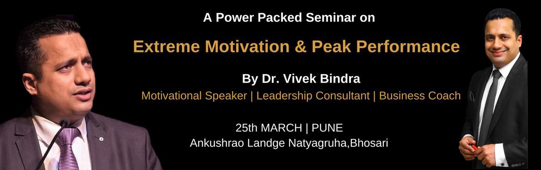 Extreme Motivation & Peak Performance Vivek Bindra