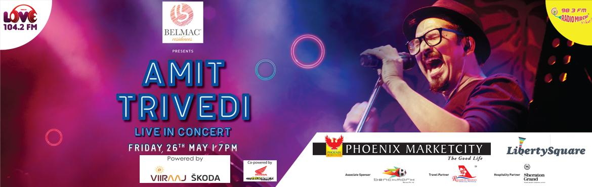 Mirchi Live with Amit Trivedi at Liberty Square