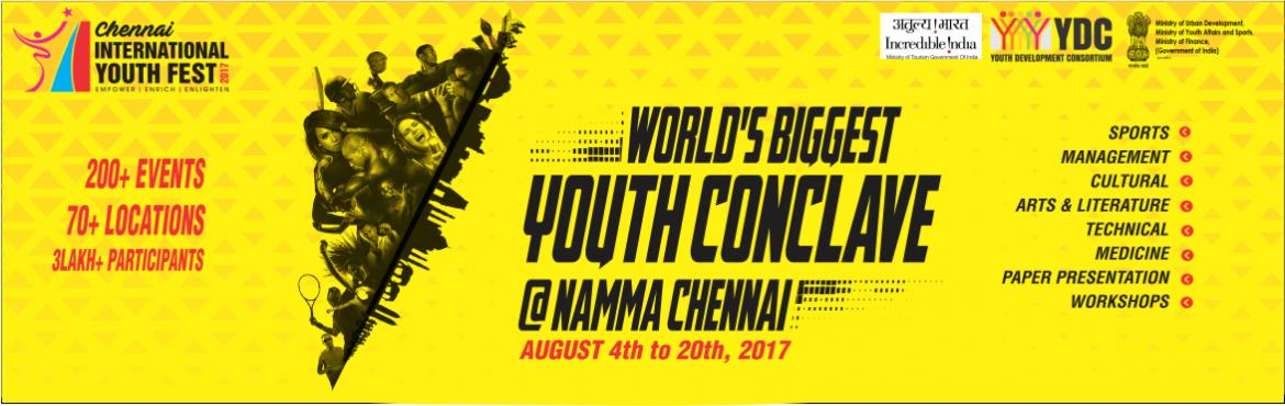 Chennai International Youth Festival 2017