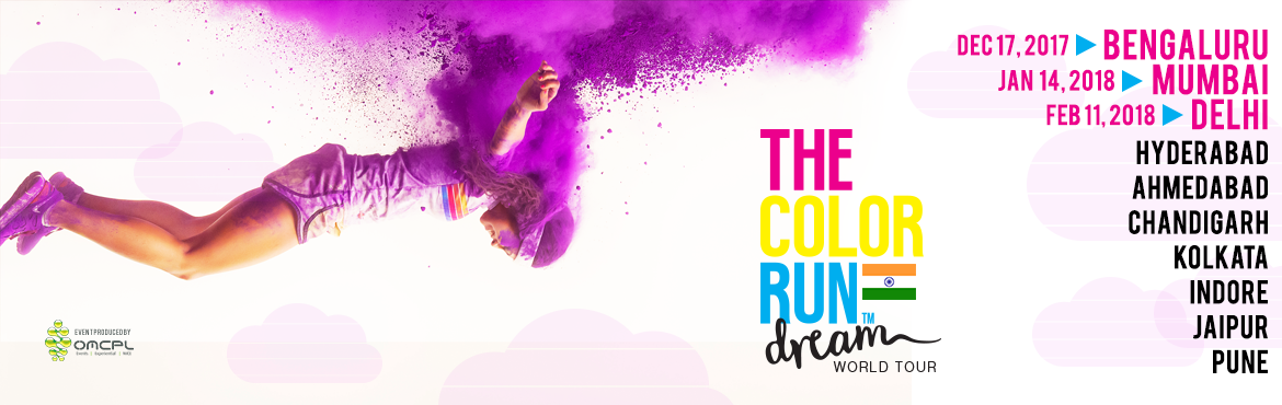 The Color Run India- Delhi NCR