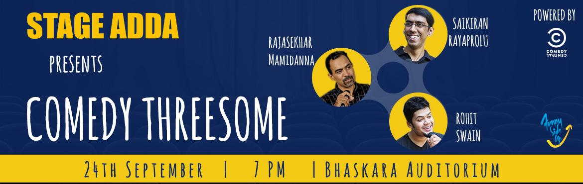 Stage Adda Presents - Comedy Threesome