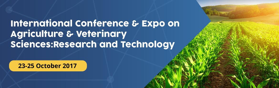 International Conference and Expo on Agriculture a
