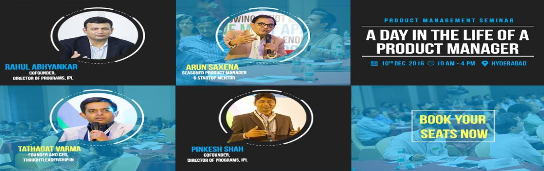Product Management Seminar- Hyderabad