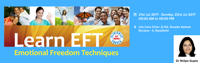 EFT (EMOTIONAL FREEDOM TECHNIQUES) Training Delhi
