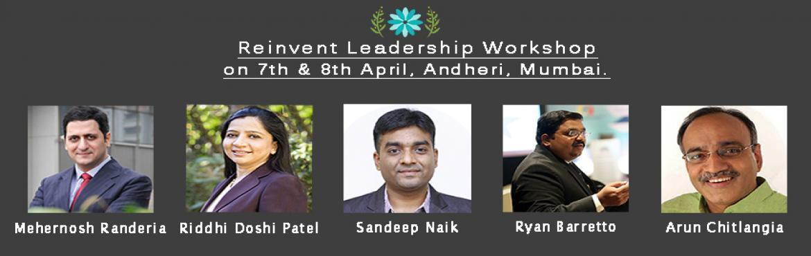Reinvent Intensive Leadership Workshop Mumbai