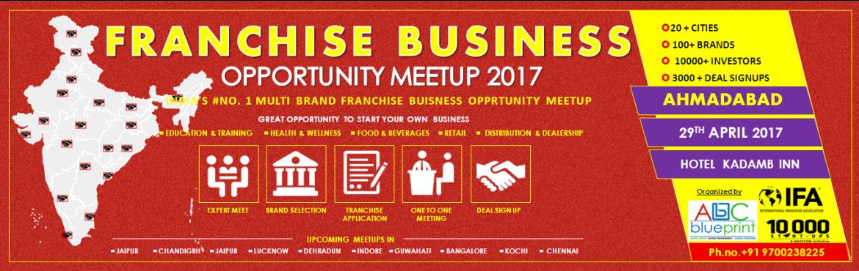 Franchise Opportunity Meetup Ahmadabad