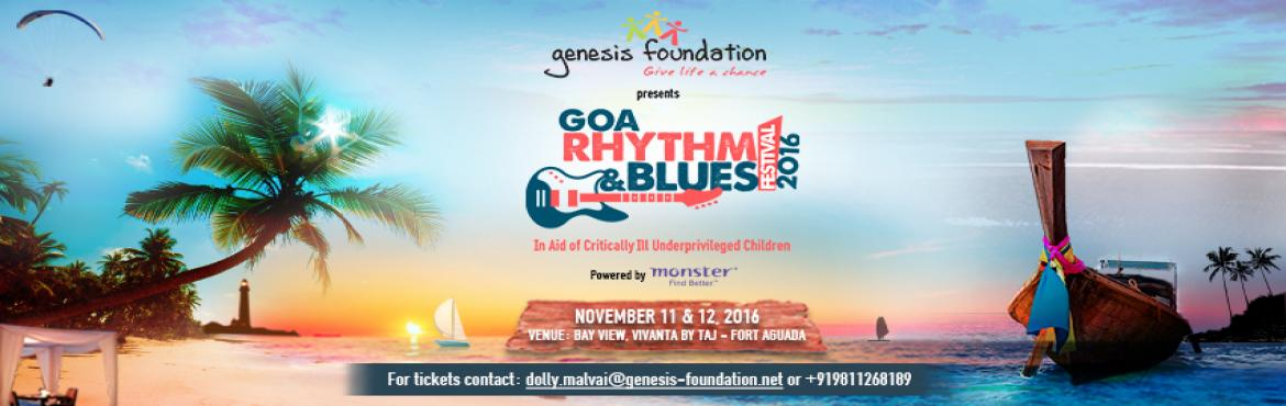 Goa Rhythm and Blues Festival 2016