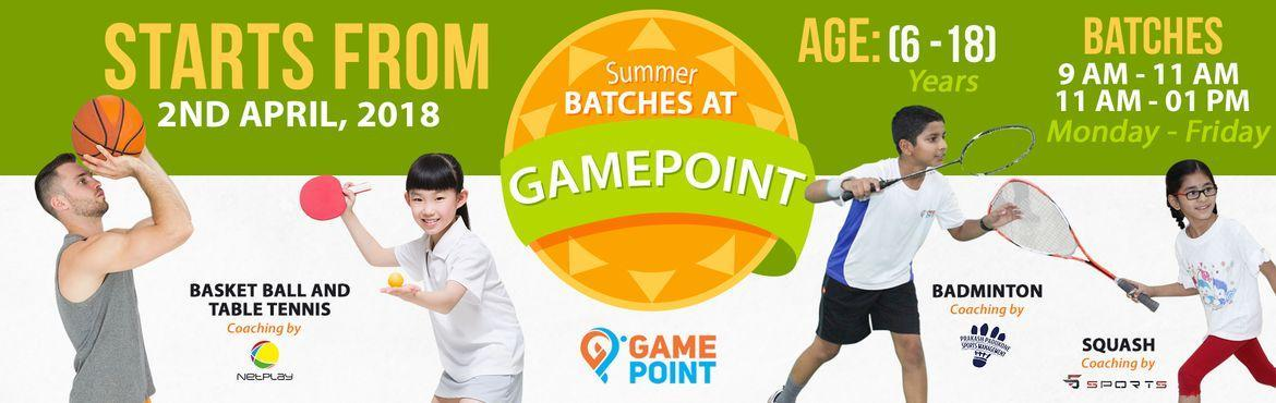 Summer-Coaching-Camps-at-Gamepoint-Hyderabad