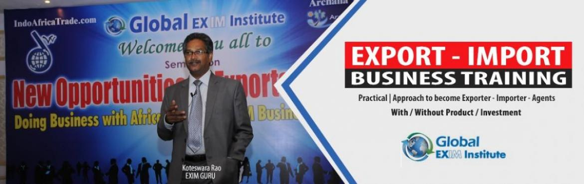 About EXPORT-IMPORT-Business-Training