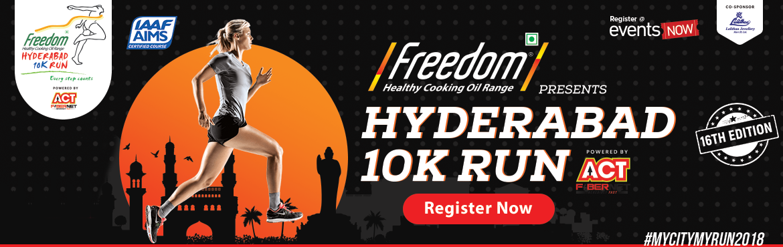 Hyderabad 10K Run 2018