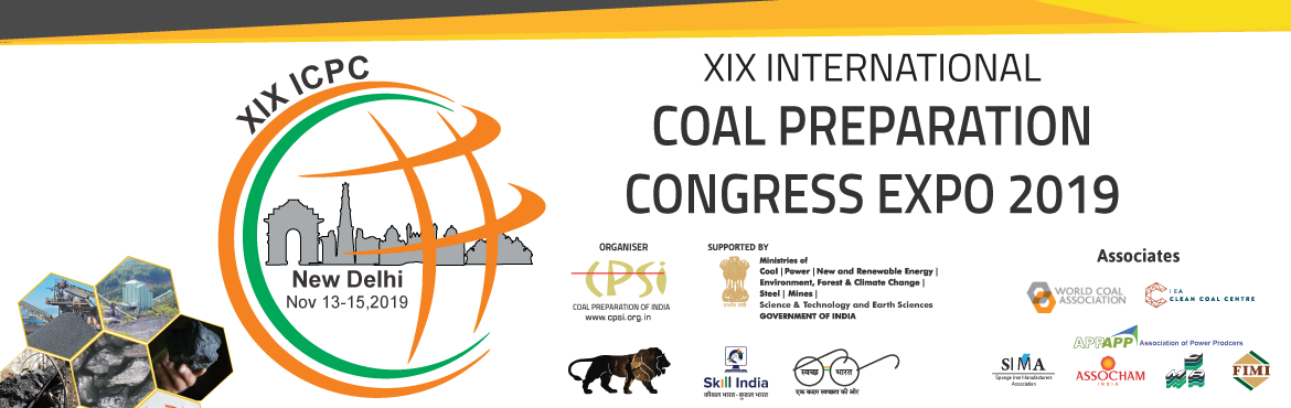 XIX International Coal Preparation Congress 2019