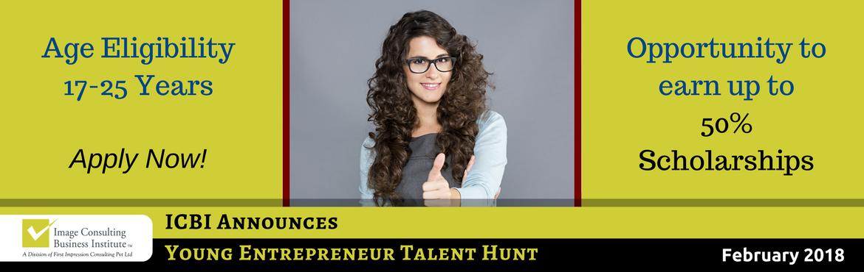 ICBI Young Entrepreneur Talent Hunt