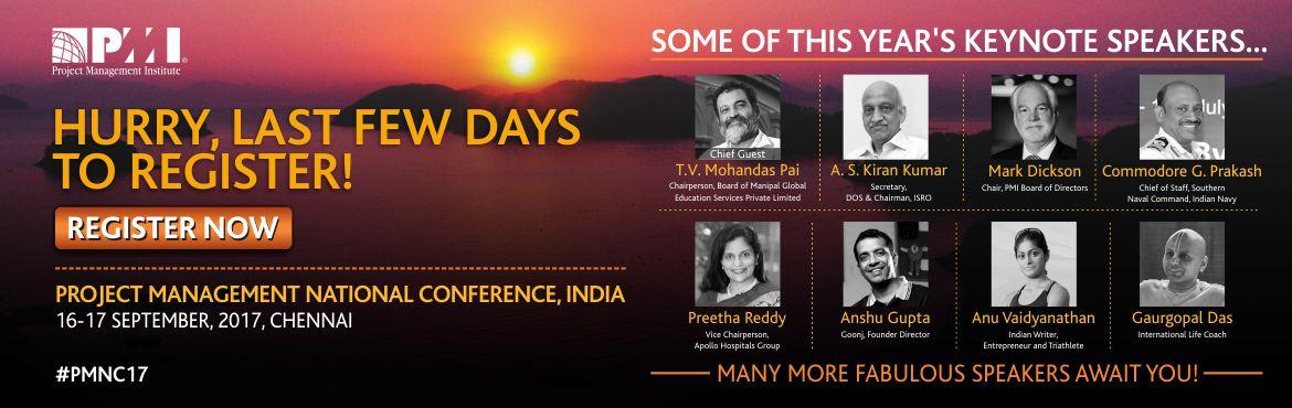 Project Management National Conference, India 2017