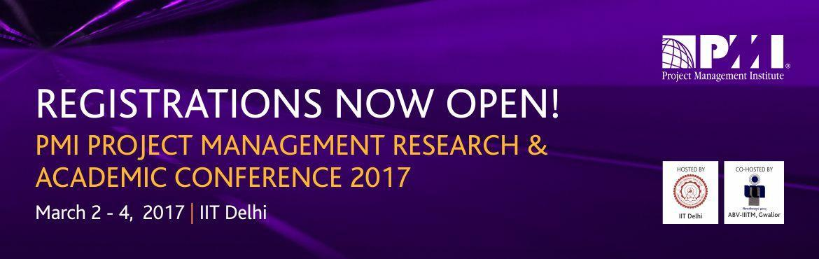 PMI India Research and Academic Conference 2017