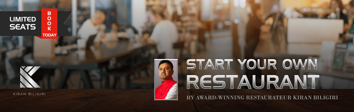 Start Your Own Restaurant by Award Winning Restaur