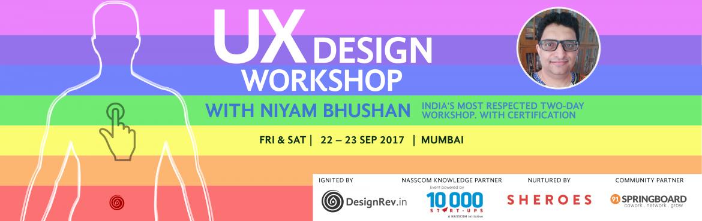 UX Design Workshop with Niyam Bhushan