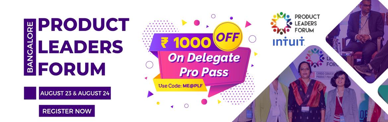 Product Leaders Forum - Bangalore