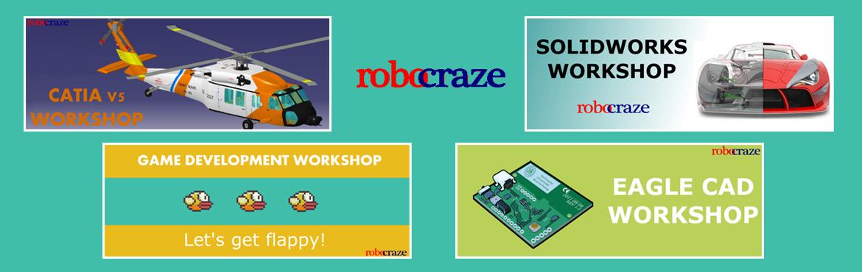 Upcoming Training Programs from RoboCraze