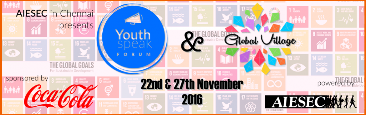 Youth Speak Forum and Global Village 2016