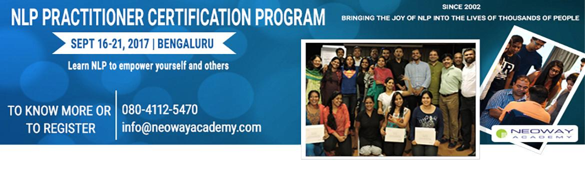 NLP Practitioner Certification Program