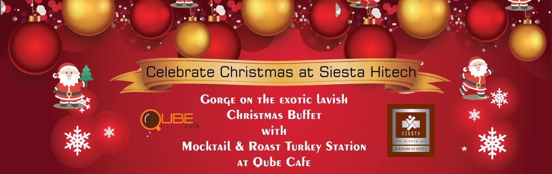 Christmas Eve Dinner and Brunch at Siesta Hitech